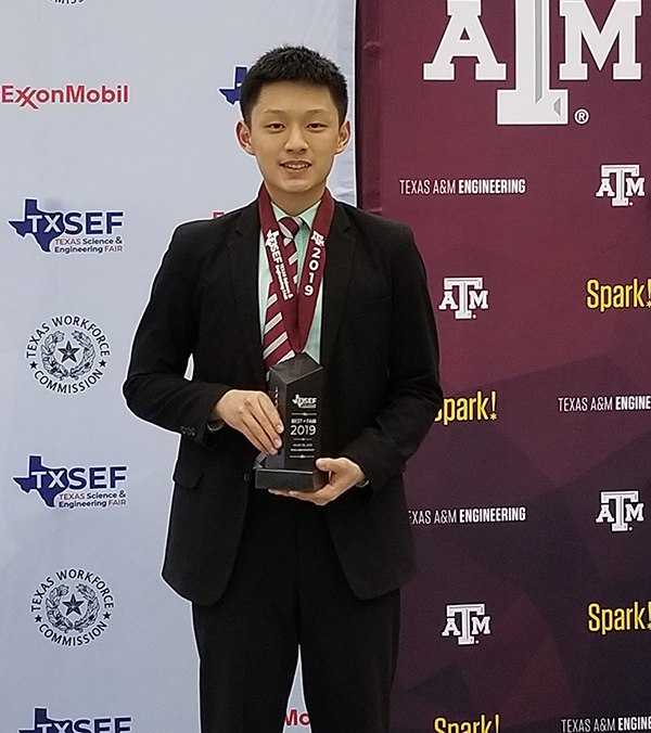 Kevin Meng, PWSH with trophy