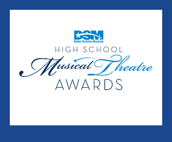 DSM High School Musical Theatre Awards logo