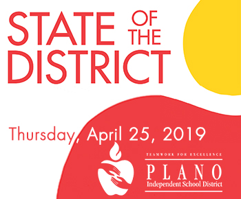 State of the District, Thursday, April 25, 2019