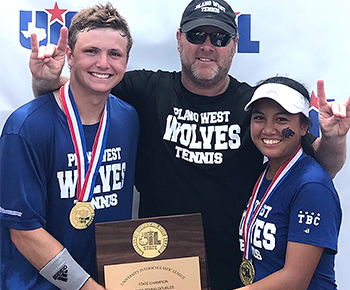 UIL 6A State Mixed Doubles Champs Tennis