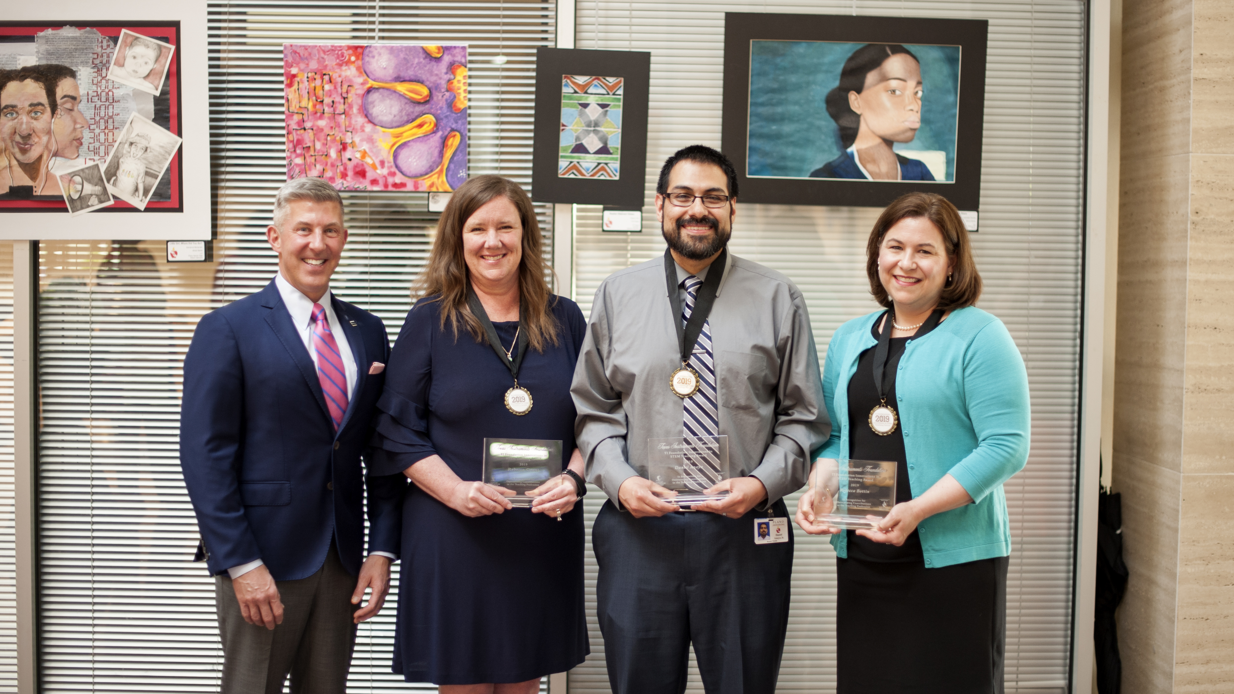 Innovations in STEM Teaching winners