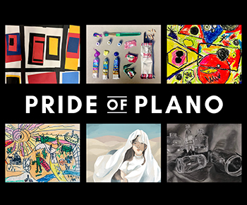 Pride of Plano/student artworks
