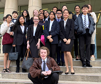 Robinson MS Mock Trial Teams