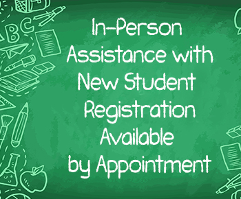 In-Person Assistance with Online Enrollment Available by Appointment