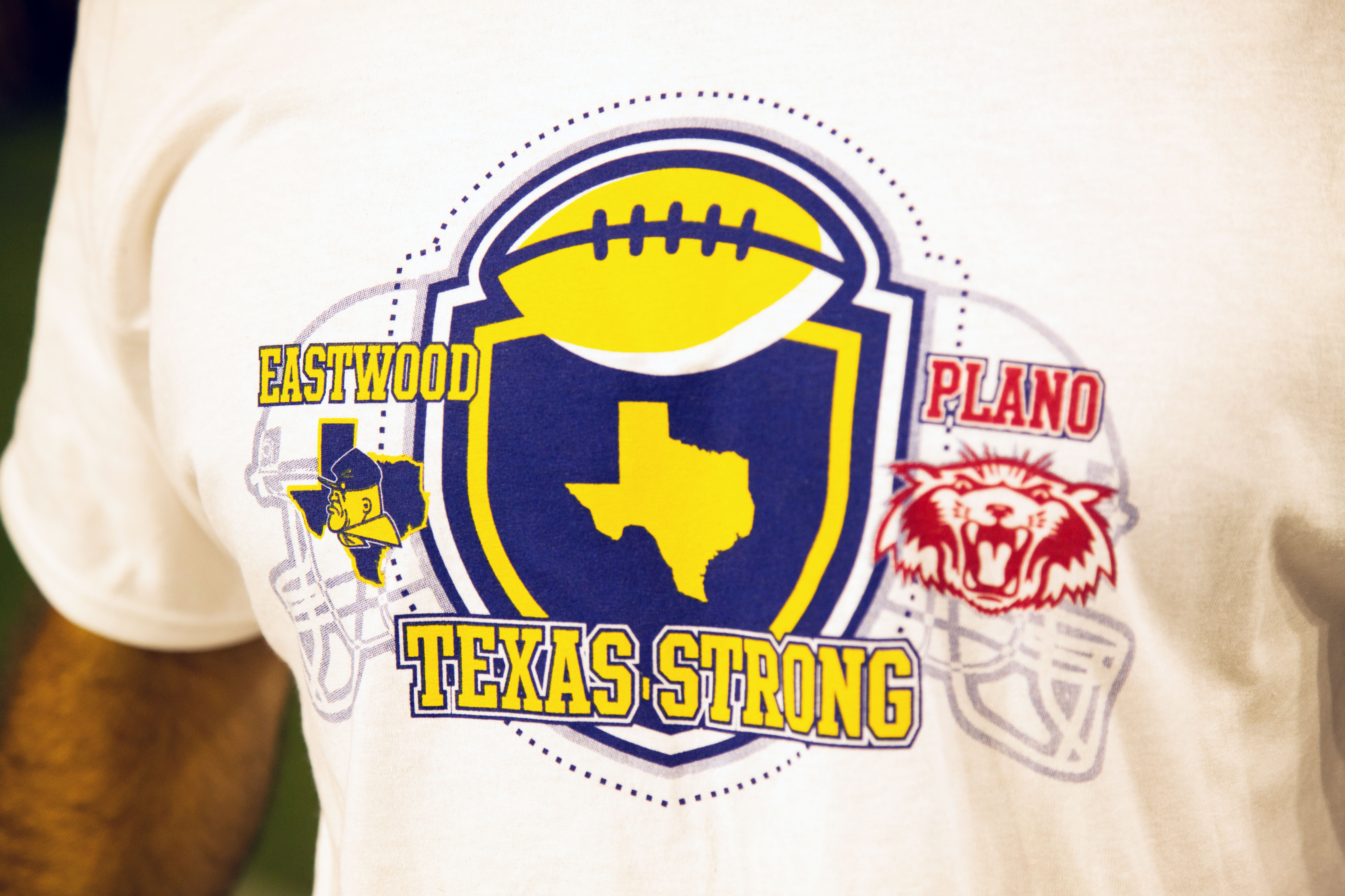 Eastwood HS  - Texas Strong - Plano SHS  T-shirt