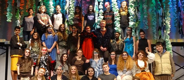 Jungle Book cast from theatre performance