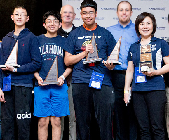 State and Chapter MathCounts Competition Results