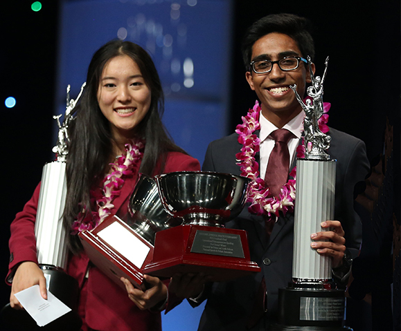Jacquelyn Wei and Uzair Alpial PWSH