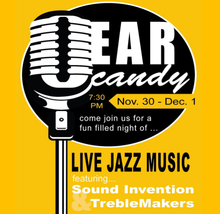 Ear Candy Poster for the Sound Invention and TrebleMakers concert