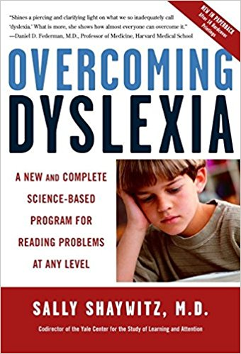 Overcoming Dyslexia Book cover