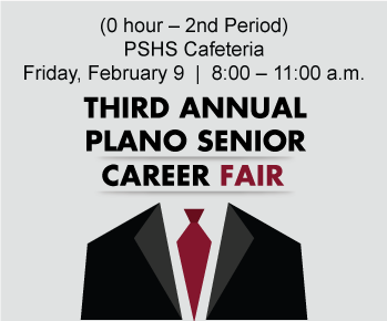 3rd Annual Plano Senior Career Fair