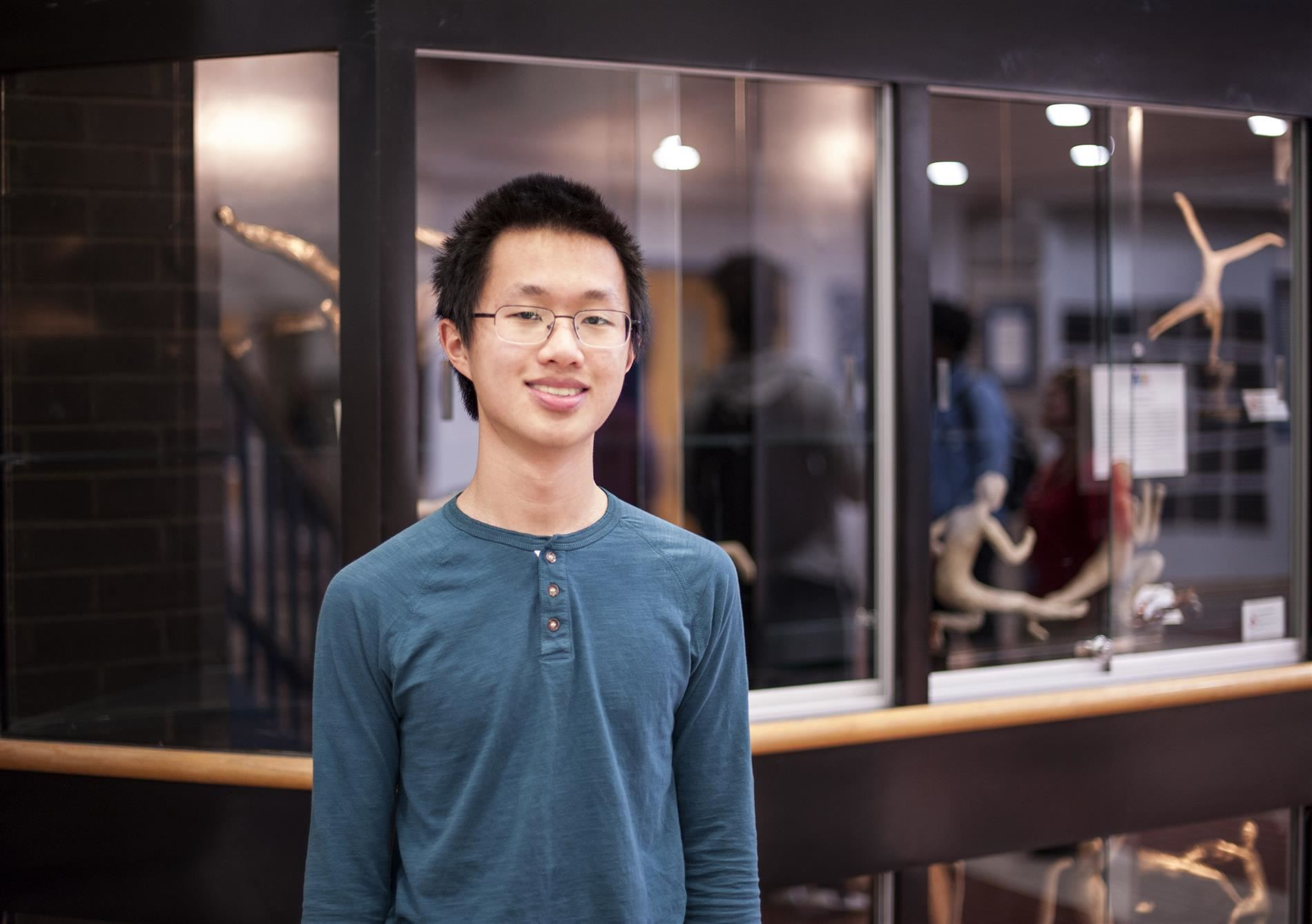 Vincent Huang, Named as Top 40 Finalist in the Regeneron Science Talent Search