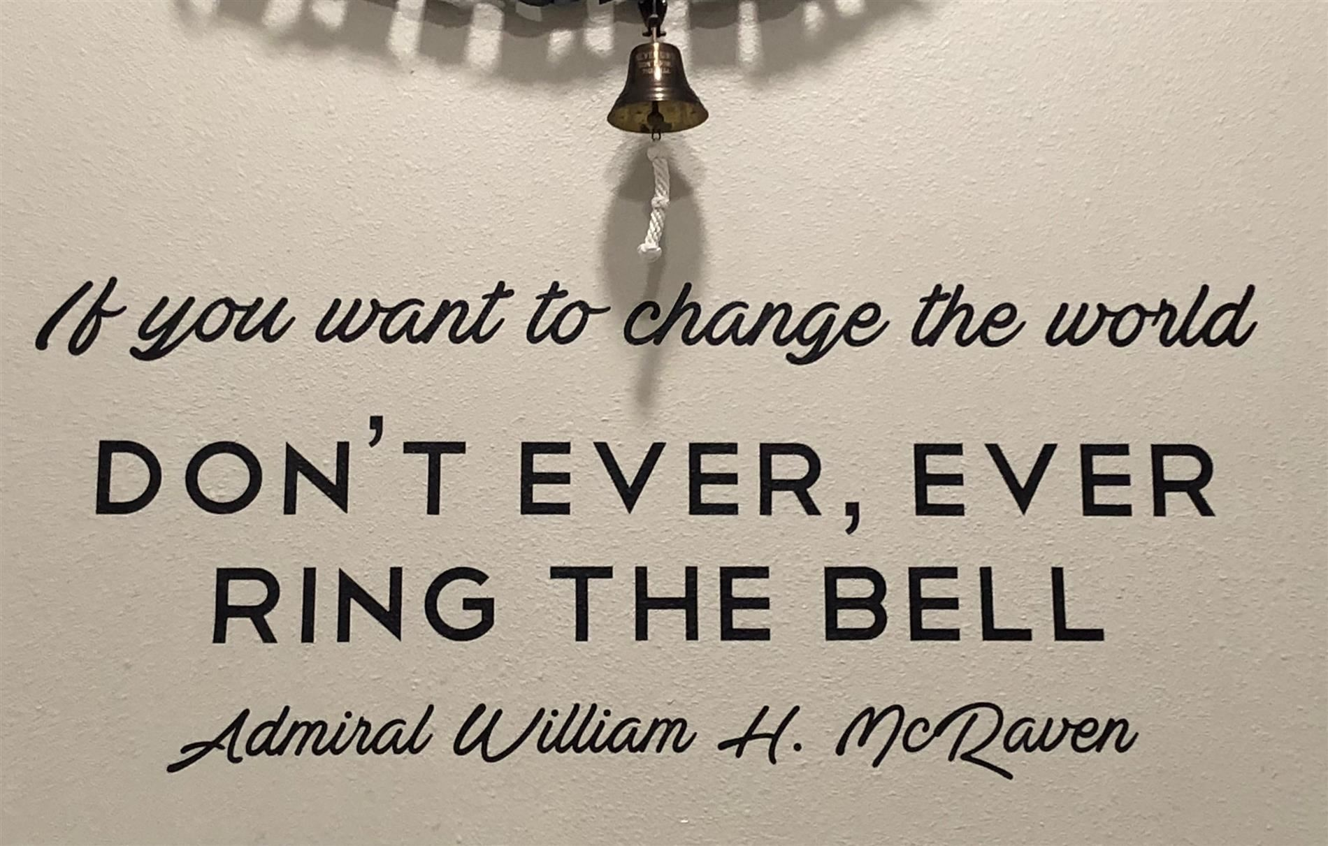 Don't Ever Ring the Bell!