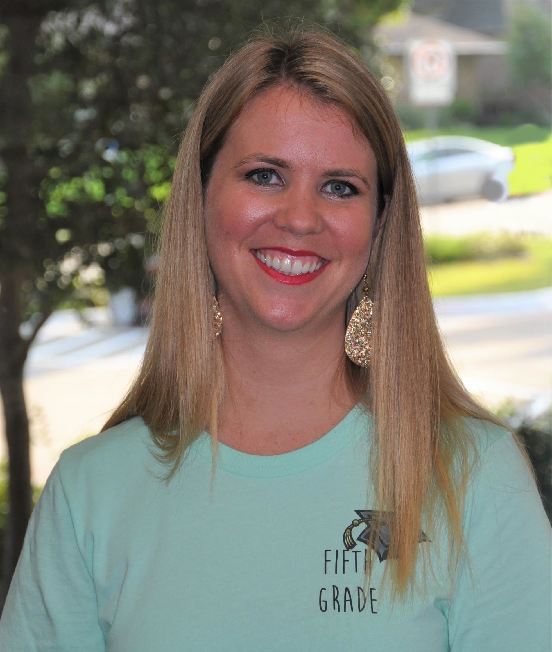 Ashley Dantzler, 5th Grade Team Lead