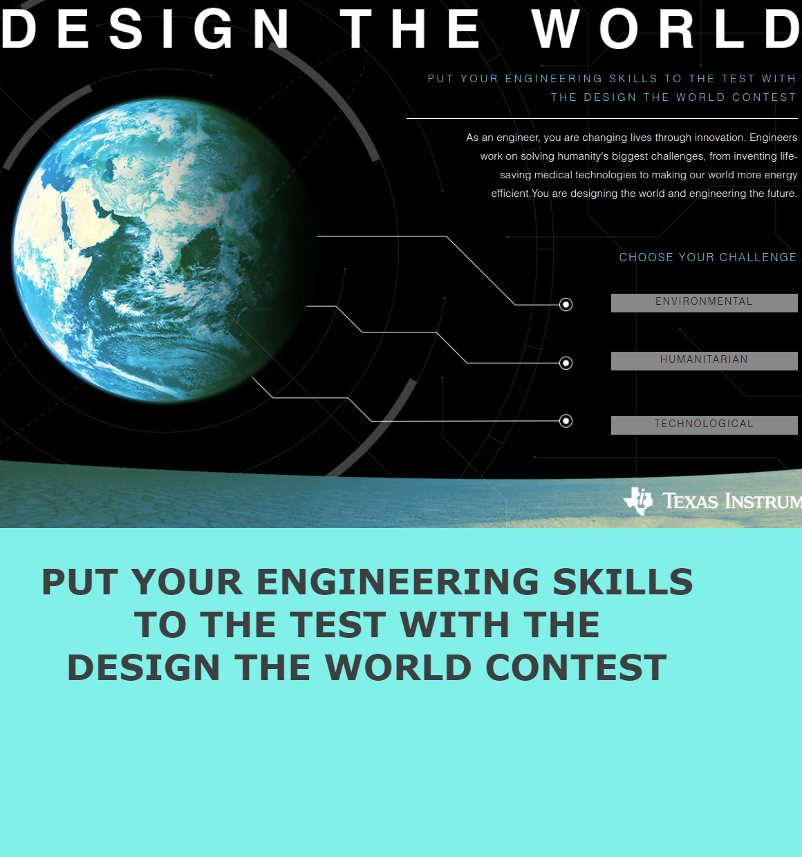 TI- Design the World Contest