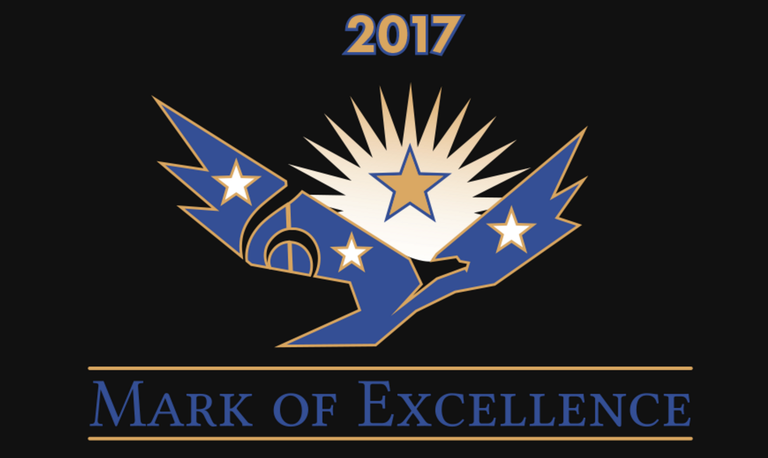 September 13, 2017 - Mark of Excellence Awards Announced