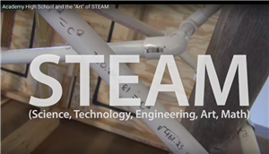 Academy High School and the Art of STEAM