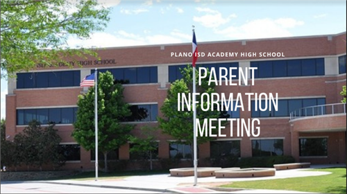 Parent Information Meeting