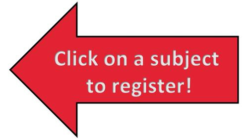 click on a subject to register