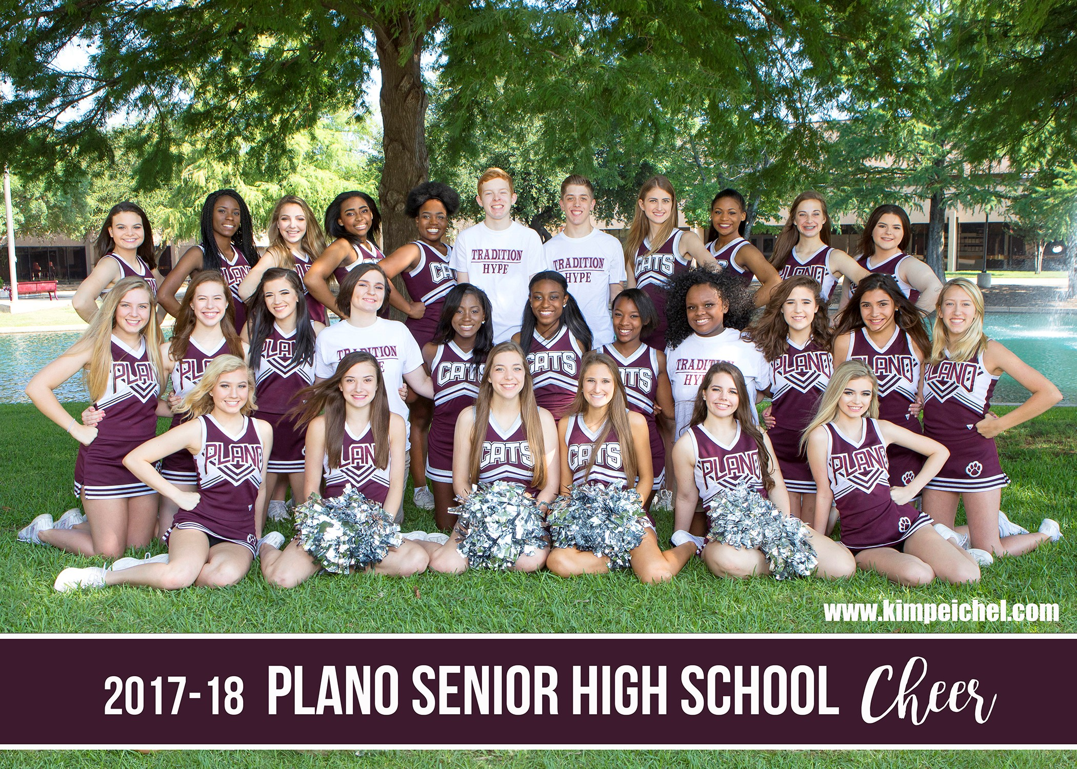 2017-2018 PSHS Cheerleaders