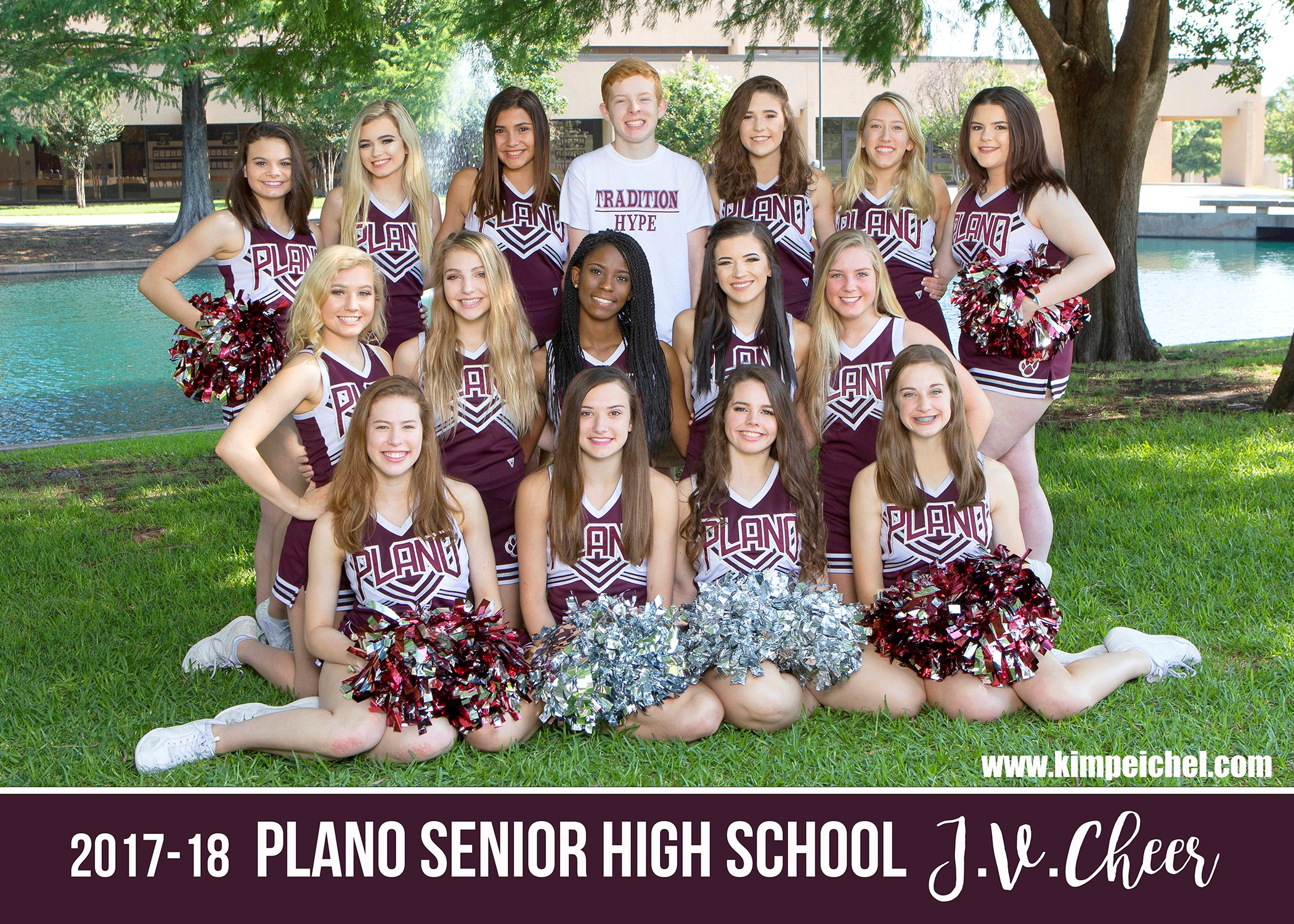 2017-2018 PSHS Junior Varsity Cheerleaders