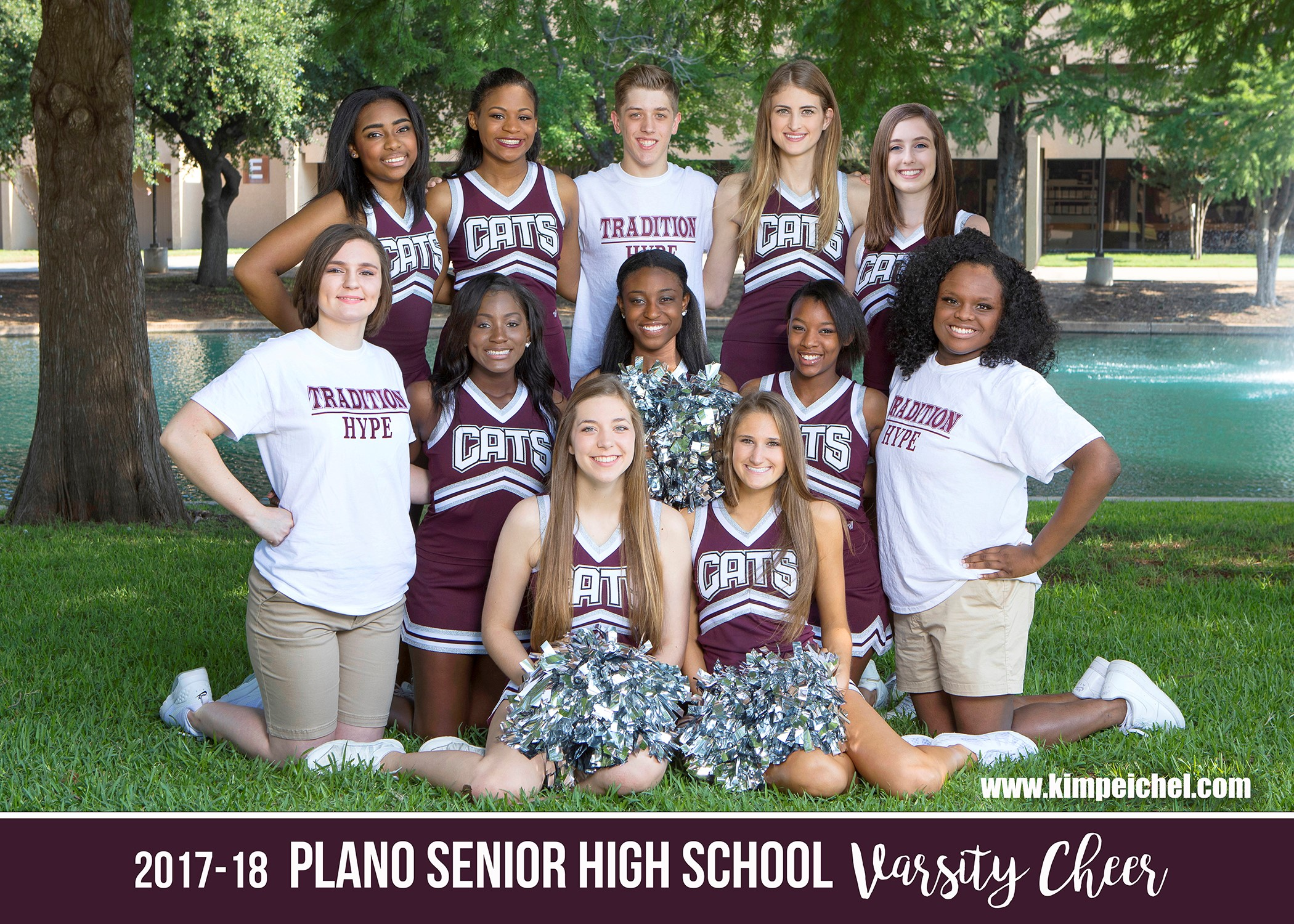 2017-2018 PSHS Varsity Cheerleaders