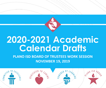 2020-2021 Academic Calendar Draft Presentation