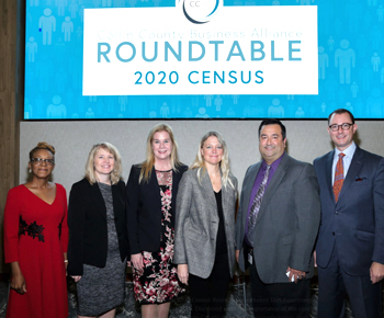 Twitter: The Collin County Business Alliance 2020 Census Roundtable included Assistant Superintendent for Technology Services Dan Armstrong