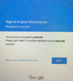 chromebook sign in