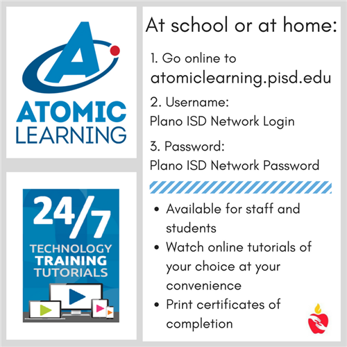 Atomic Learning Quick Start Guide