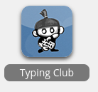 typing club icon in webdesk