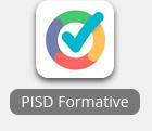PISD Formative app in Webdesk