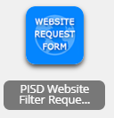 pisd website filter request
