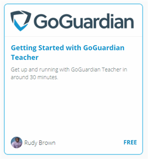 Getting Started with GoGuardian Teacher