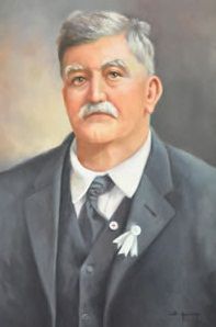 Portrait of John Henry Rasor.