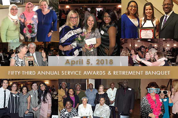 photo collage from Salute to Service Banquet 2017