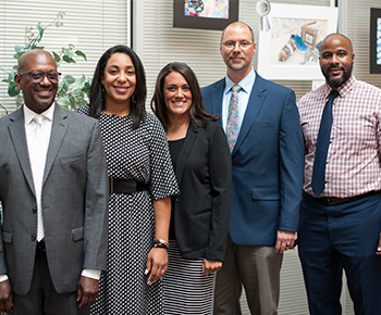 Group of new Admin Appointments from Robinson, Shepton, Otto and Mendenhall