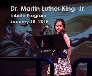 Student speaker from MLK tribute 2017