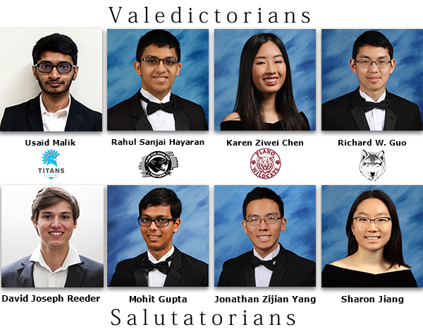 grid of phots of Vals and Sals from all 4 graduation classes