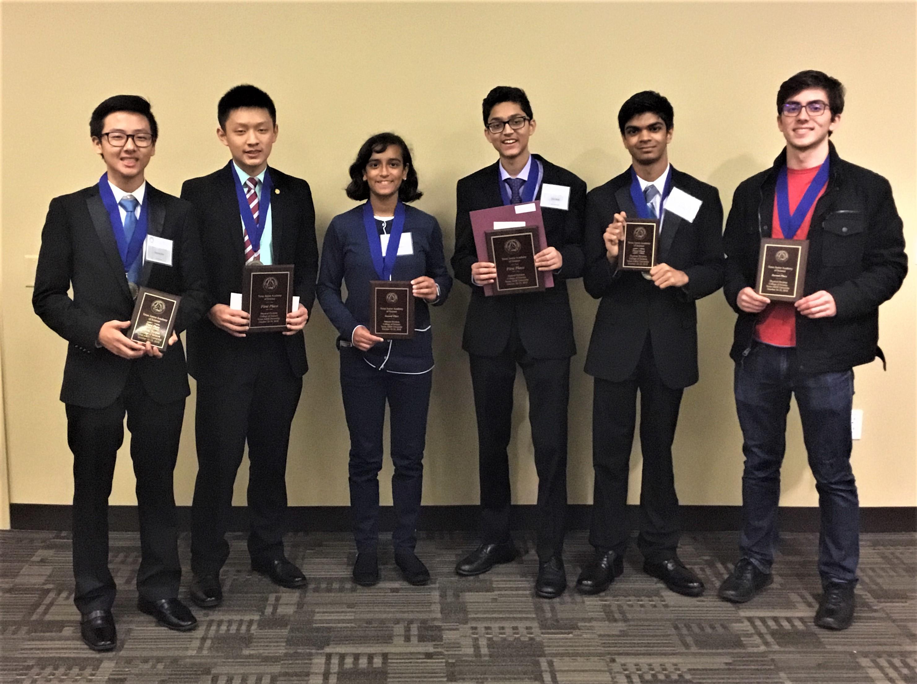 TJAS (6) Grand Prize Winning students