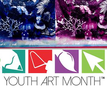 Youth Art Month/artwork