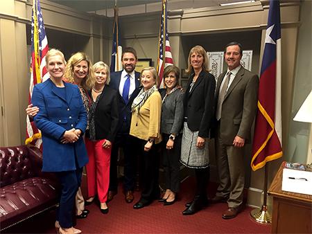 Plano ISD Board and leadership at Capitol