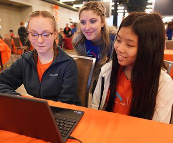 Jasper girls coding