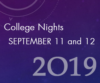 College Night Sept 11 & 12 2019