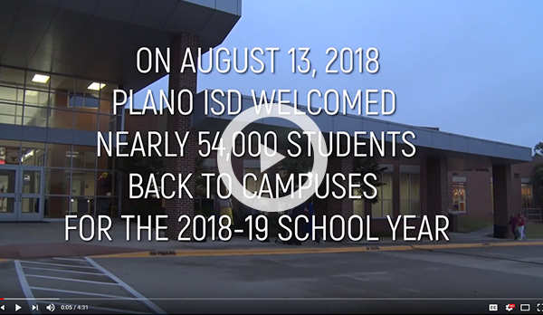 First Day of School video link