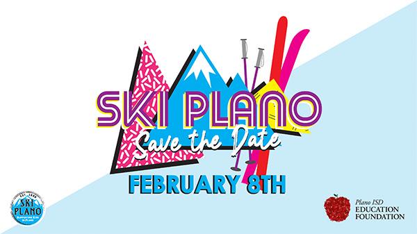 SKI PLano Save the Date, Feb. 8, 2020