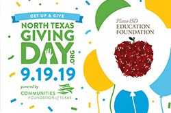 Ed. Foundation Logo, North Texas Giving Day 9.19.19