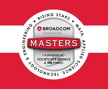 Broadcom logo, Rising Stars- Math, Applied Science, technology, engineering
